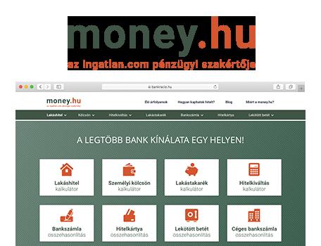 Money.hu - 30+ bank kínálata egy helyen